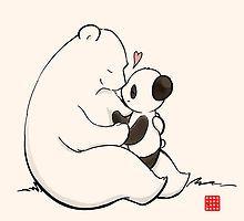 'Quién, yo?' by Panda And Polar Bear