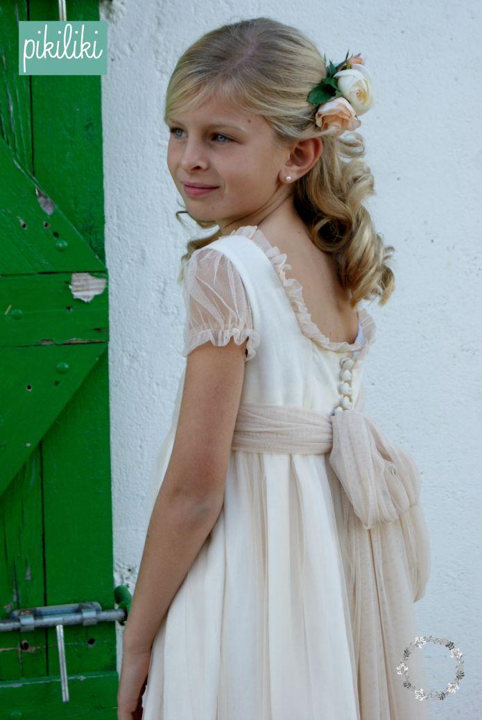 pérdida Representación Gobernable  LA NUEVA COLECCIÓN DE ARRAS Y COMUNIÓN DE PIKILIKI - LA COMUNIÓN DE MARÍA |  Vestido floreado de niña, Vestidos comunion niña, Vestidos para primera  comunion