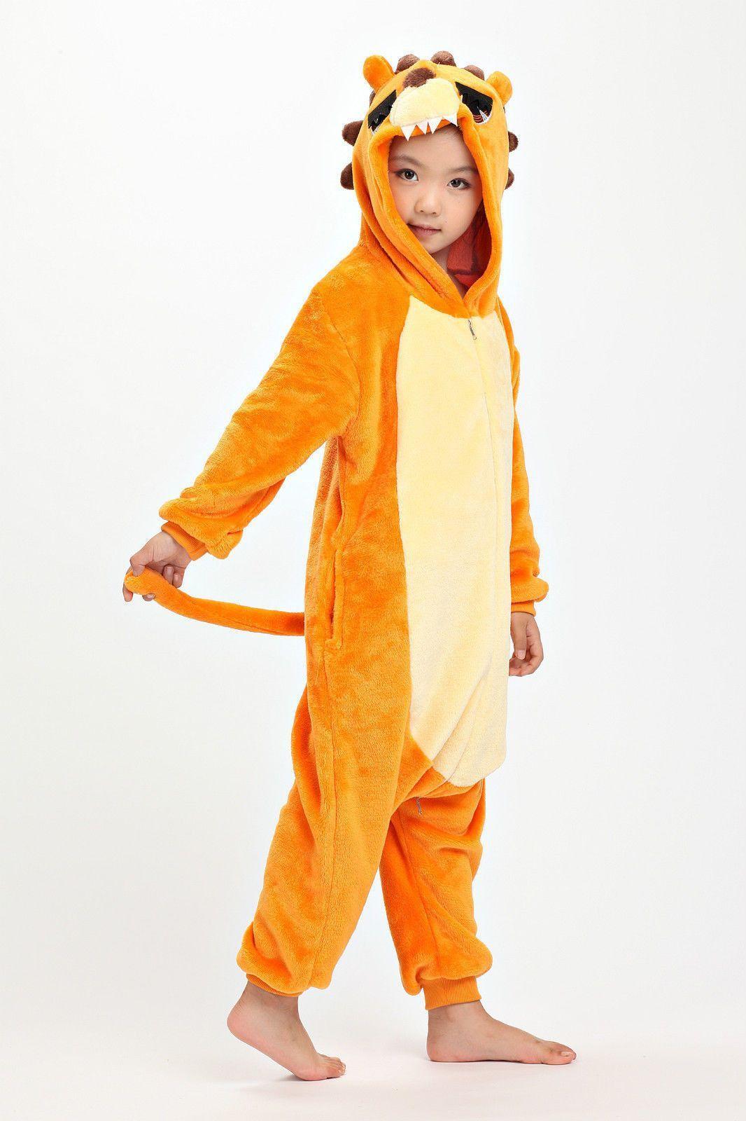 db36f768a96a Lion Onesie for Kids Pajamas