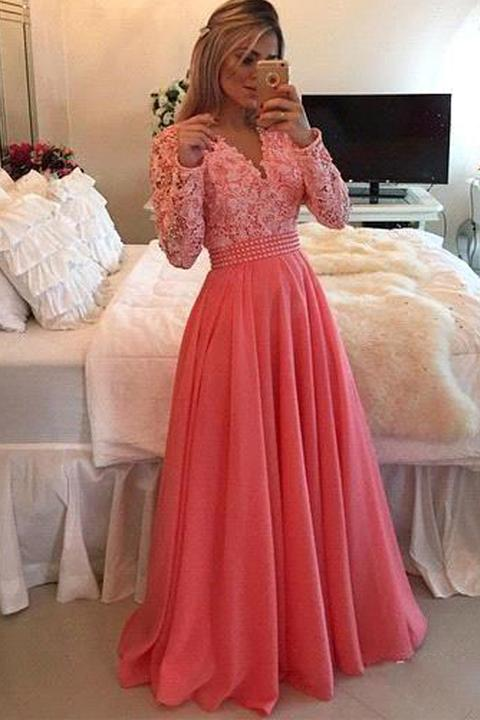 41+ Coral dress with sleeves information