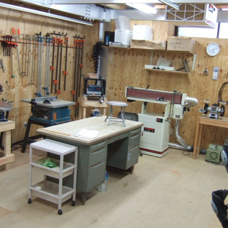 29 Woodworking Shop Plans Designs No 707 Small Woodworking Shop