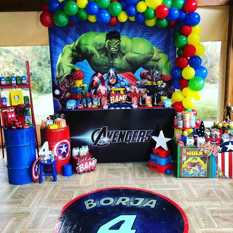 Avengers Birthday Party Ideas Marvel Birthday Party Avengers