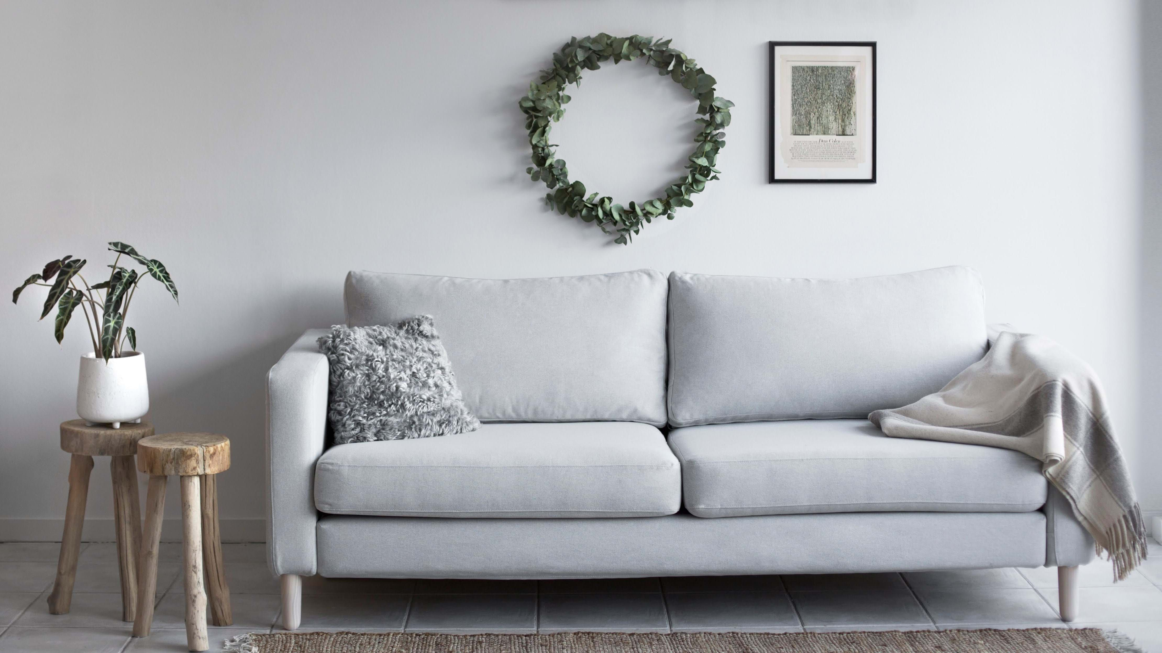 Our Machine Washable Covers Are Made With A Focus On 100 Natural High End Fabric In A Wide Range Of Qualities Including In 2020 Ikea Sofa Ikea Karlstad Sofa Covers