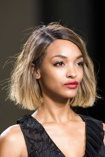 Id es coupe aux carr coiffures de stars jourdan dunn bobs and haircuts - Idee coiffure carre ...