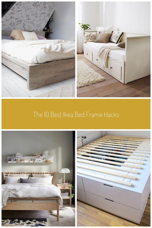 The 10 Best Ikea Bed Frame Hacks In 2020 Ikea Bed Frames Ikea