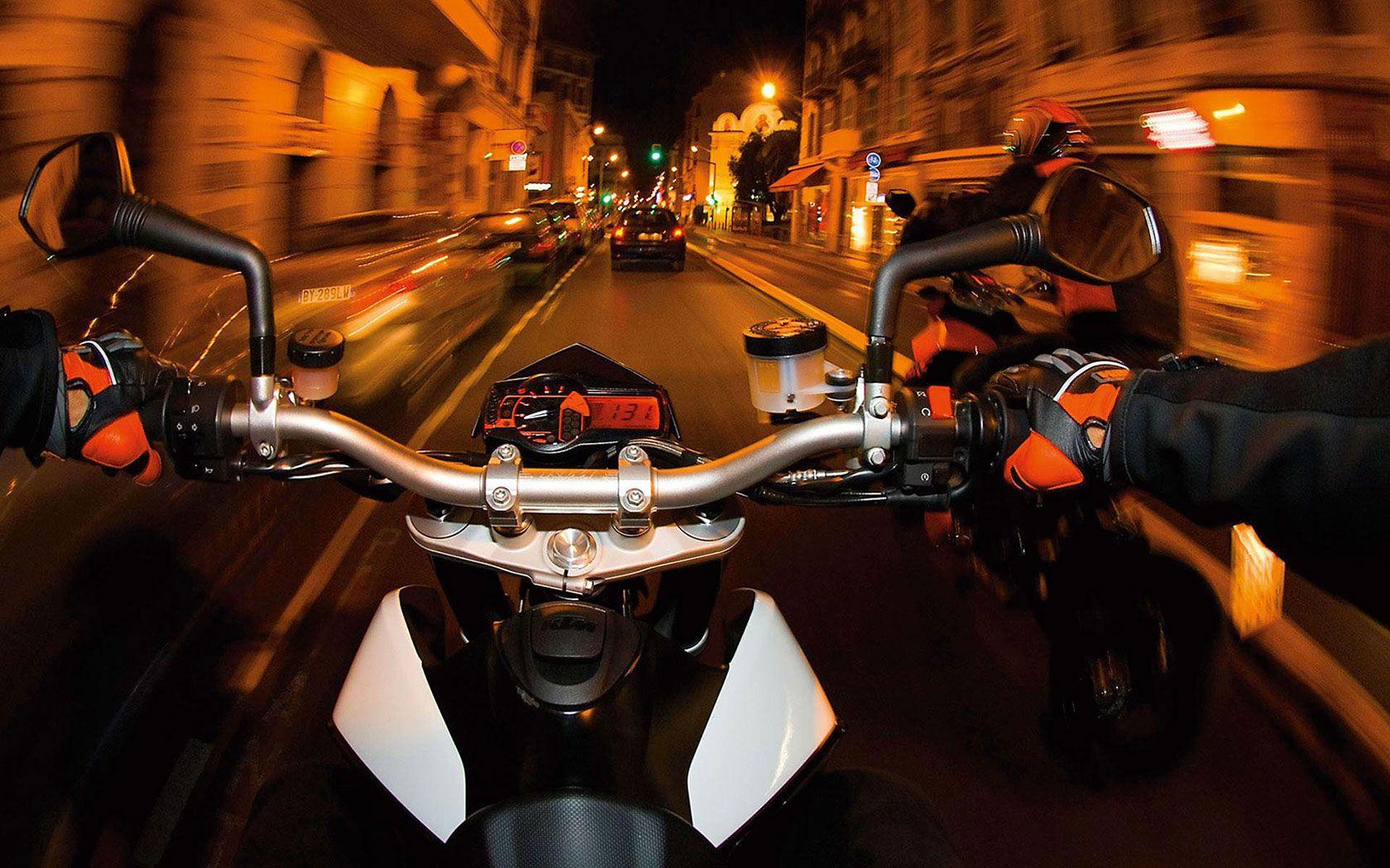 Motorcycle Ride Wallpaper