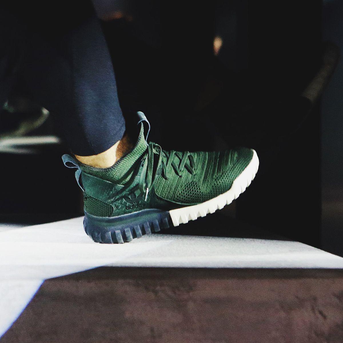 adidas Originals Tubular X Men's Basketball Shoes Night Cargo