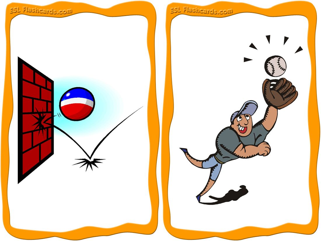 Sports Actions Flashcards