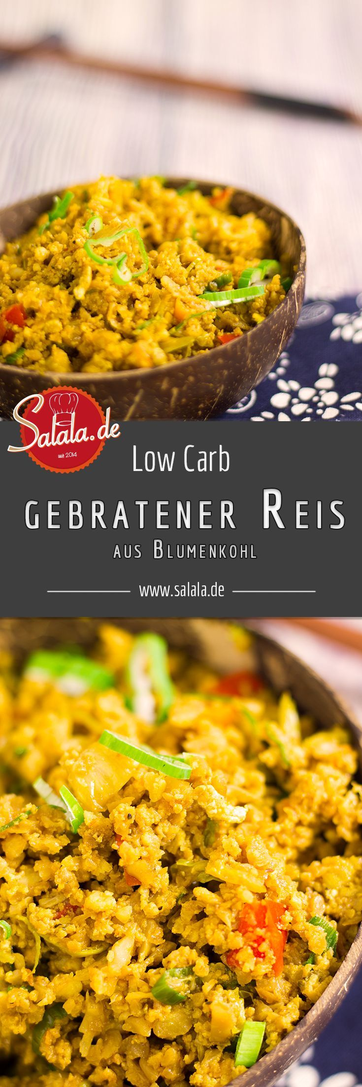 Gebratener Reis   low carb   salala.de – Low Carb leicht gemacht