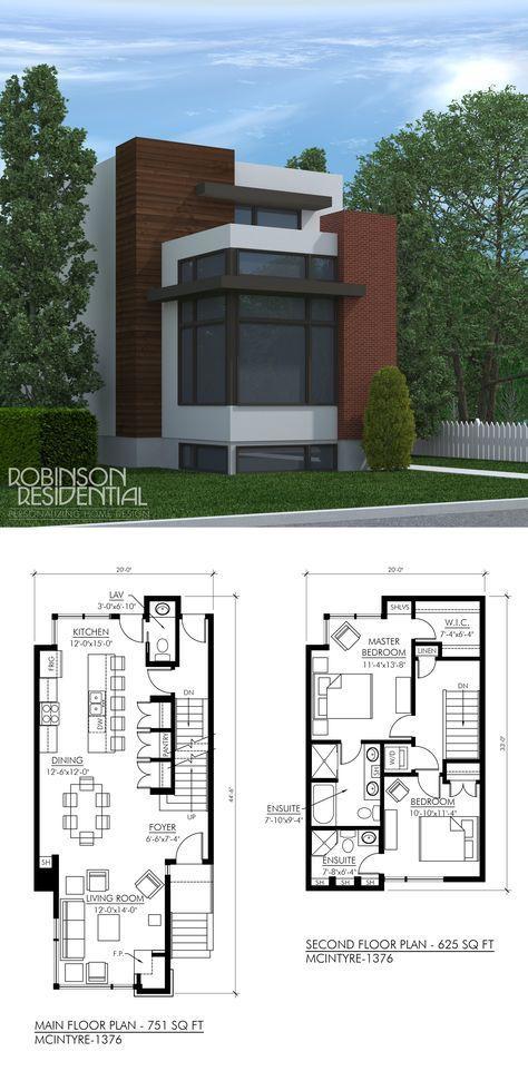 Contemporary Mcintyre 1376 Robinson Plans Casas De Dos Pisos Planos De Casas Casas