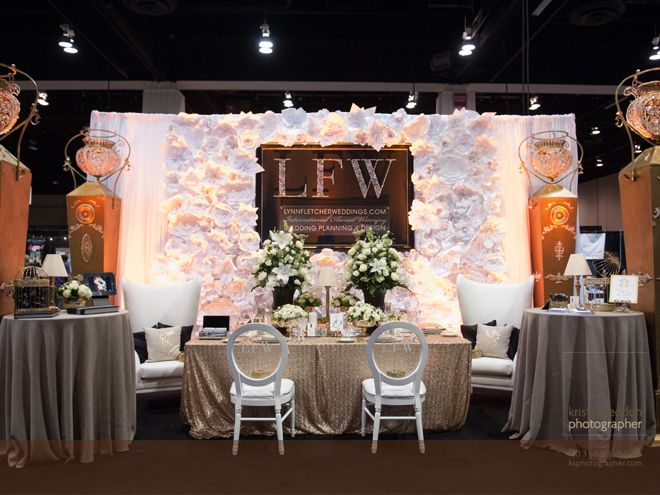 Keep Up To Date With The Latest Weddings And Inspiration From Lynn Fletcher Wedding Show Booth