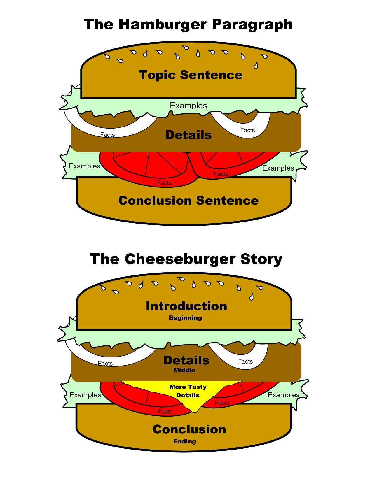 The Hamburger Paragraph Can Also Be Adapted For Essays And