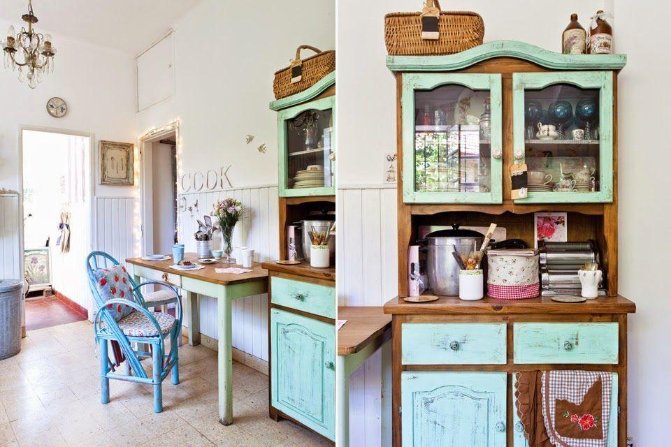 Interior puro estilo vintage moderno fresco y femenino for Casas estilo vintage
