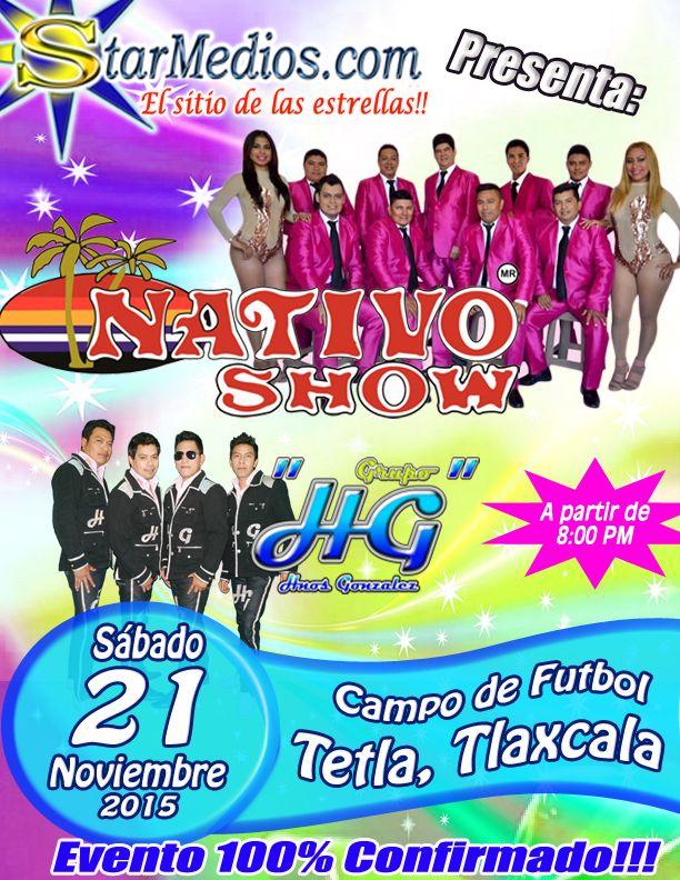 Nativo Show y Grupo HG