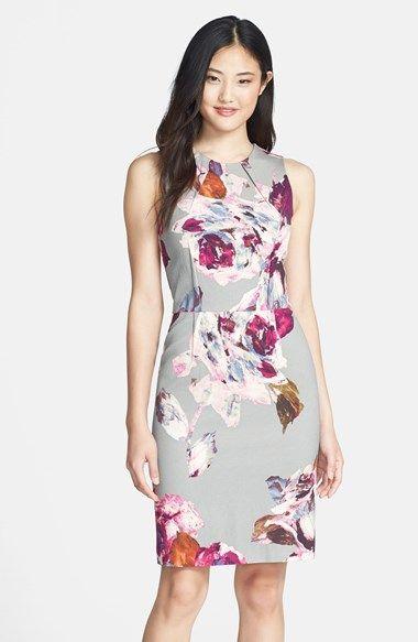 Trina Turk Sheath dress @nordstrom   Fashion   Pinterest   Stil