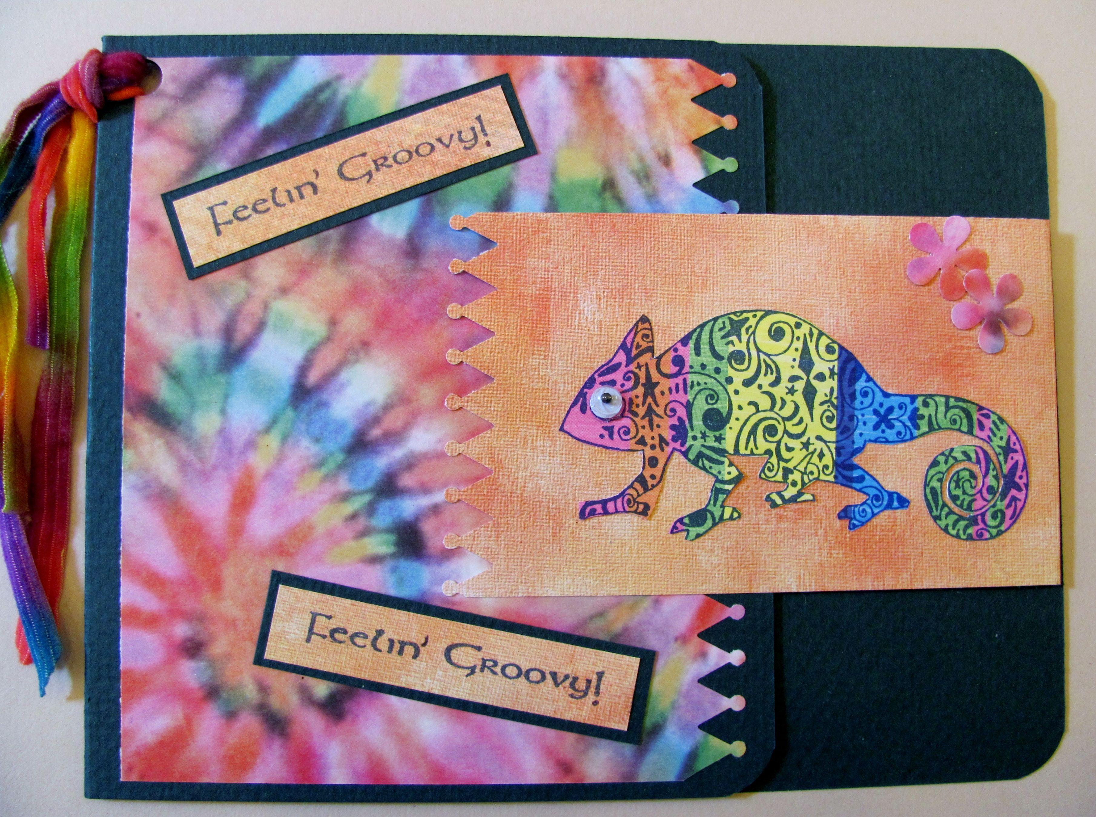 Beau Door County Rubber Stamps   Iguana