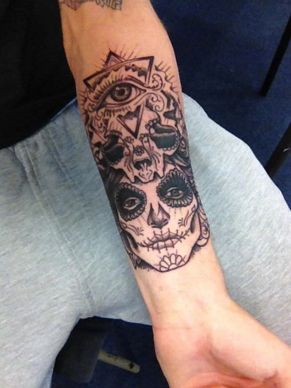 4101fca68 155+ Forearm Tattoos For Men (with Meaning) | Tattoo idea | Forearm ...