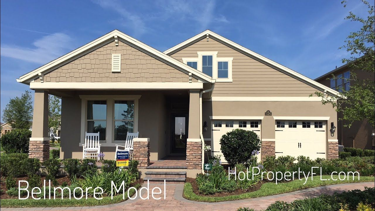 Bellmore Model at Waterleigh New Homes Winter Garden FL