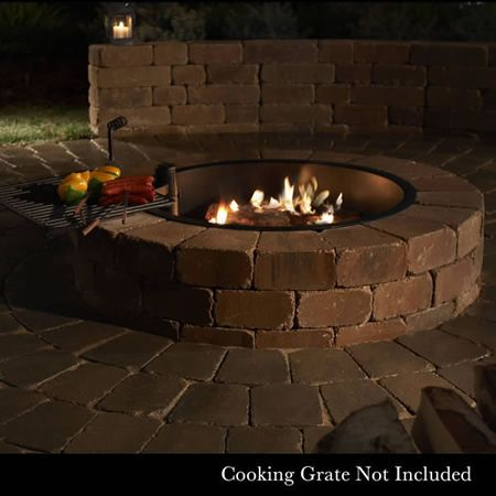 Rockwood Compact Fire Ring Woodlanddirect Com Outdoor Fireplaces Fire Pits Wood Learnshopenjoy Fire Pit Fire Pit Accessories Wood Burning Fire Pit