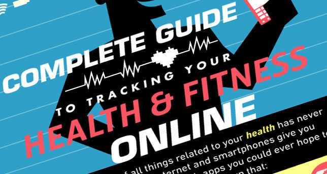 Complete Guide to Tracking Your Health  Fitness Online INFOGRAPHIC