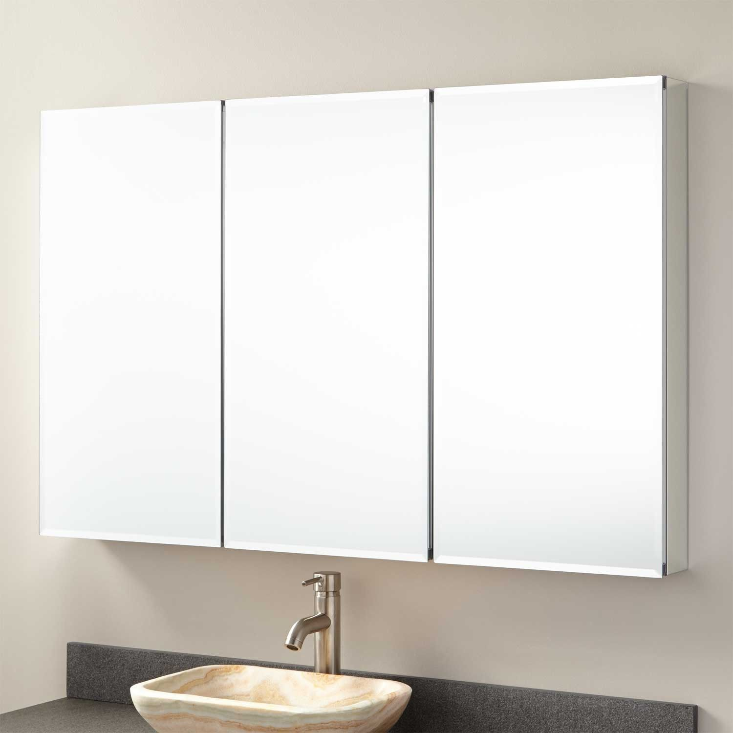 48 Furview Surface Mount Medicine Cabinet With Mirror