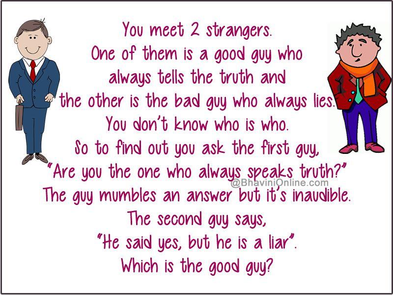 Good dating riddles