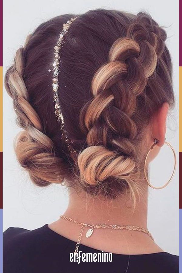 Pigtailed hair and collected: get inspired with these ideas