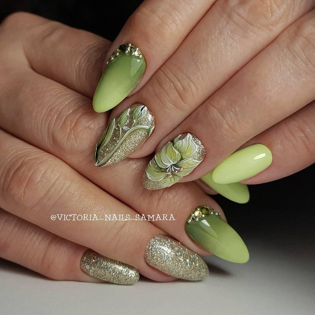 What beautiful nails. Amazing design. | uñas militar | Pinterest ...