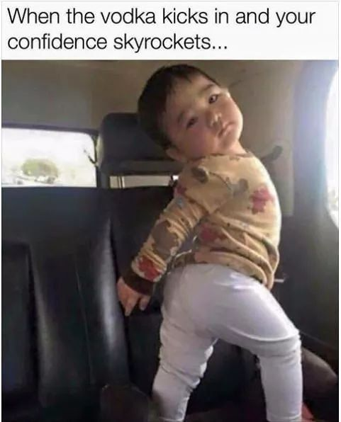 We Ve All Been There Confidence Dancing Funnymemes Thinksocial Skyrocket Funny Baby Memes Funny Babies Baby Memes