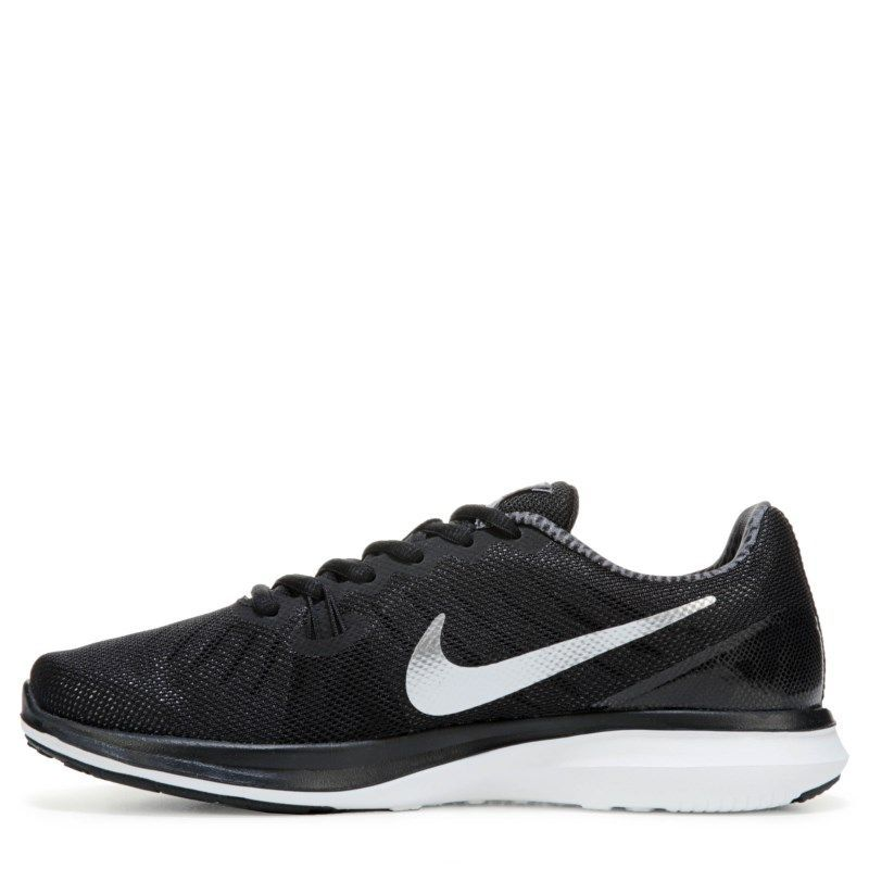 3f16e6340dbb0 Nike Women s In-Season TR 7 Training Shoes (Black Silver)