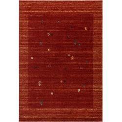 Photo of benuta Classic Kurzflor Teppich Kamal Rot 80×150 cm – Moderner Teppich für Wohnzimmerbenuta.de