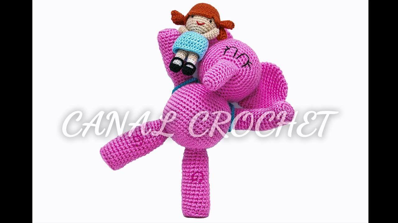 Elefante Elly amigurumi tutorial   mariposas a crochet   Croché ...