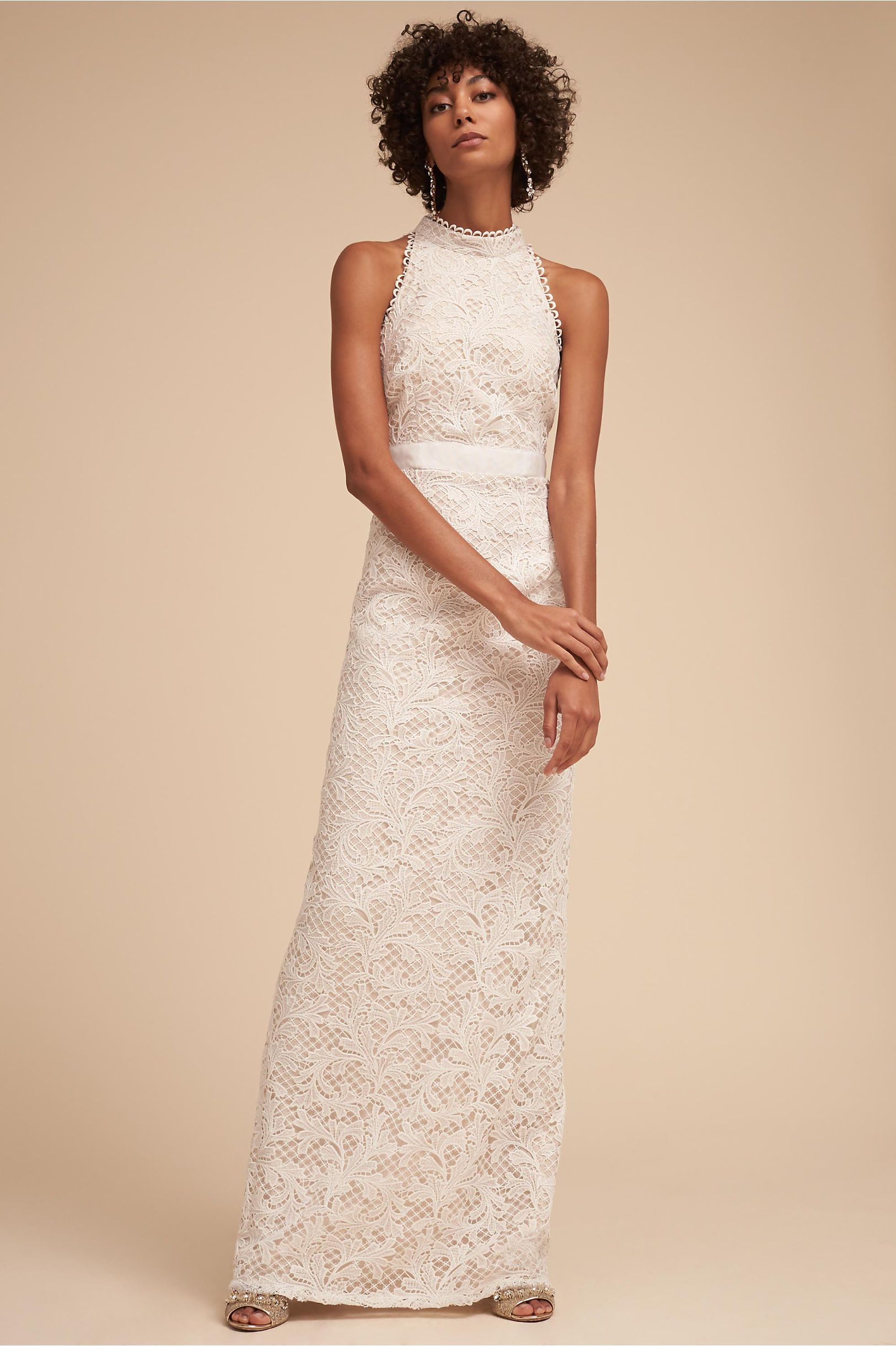 BHLDN\'s Adrianna Papell Waltz Dress in Ivory | Wedding dress ...