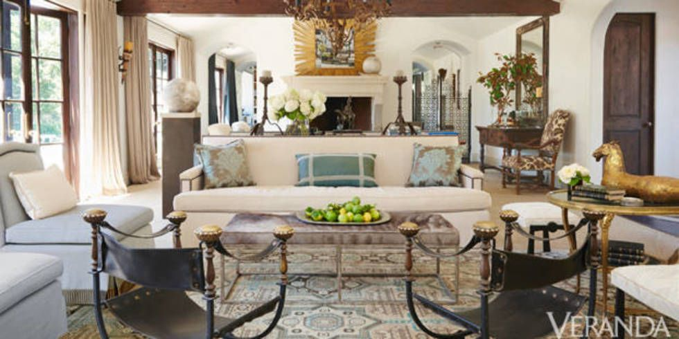 Rustic and Refined Los Angeles Ranch Rustic