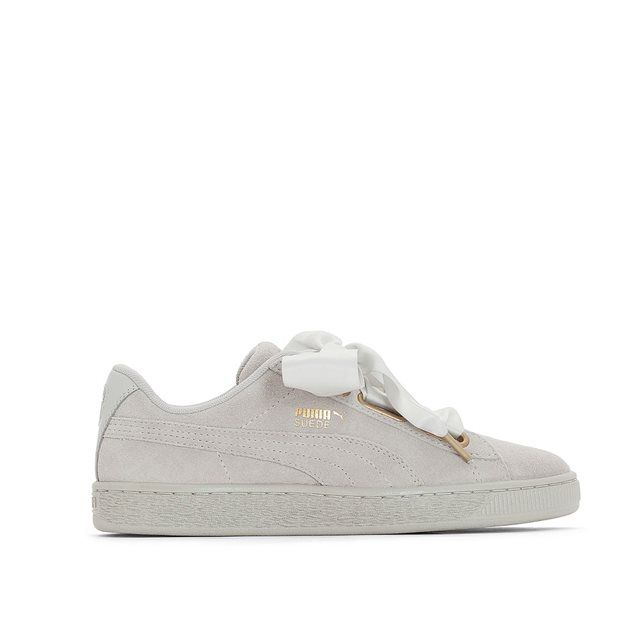 Baskets Wns Suede Heart Satin   Sneackers addict   Basket