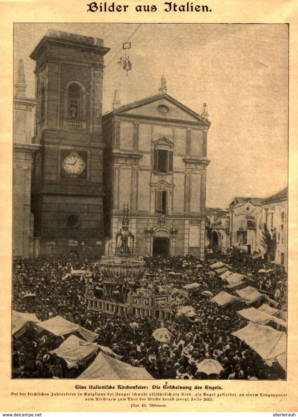 Eine Italienische Kirchenfeier Die Erscheinung Des Engel Druck Entnommen Aus Zeitschrift 1901 Artikelnummer 447352934 Beruhmte Gebaude Zeitschriften Kirchen