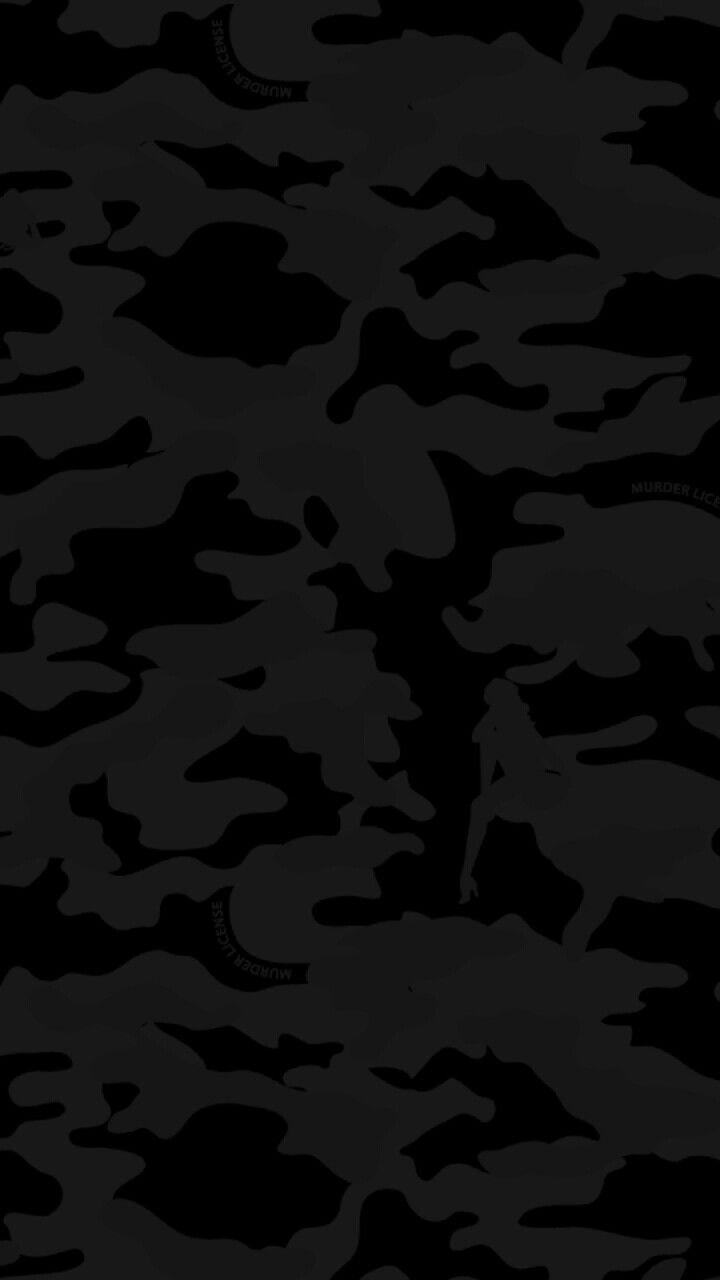 Black Camo Camoflauge Wallpaper Black Wallpaper Camouflage Wallpaper