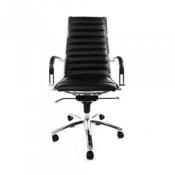 Moderne Lederen Bureaustoel.Lederen Bureaustoel Interieur Werken In Stijl Stoelen