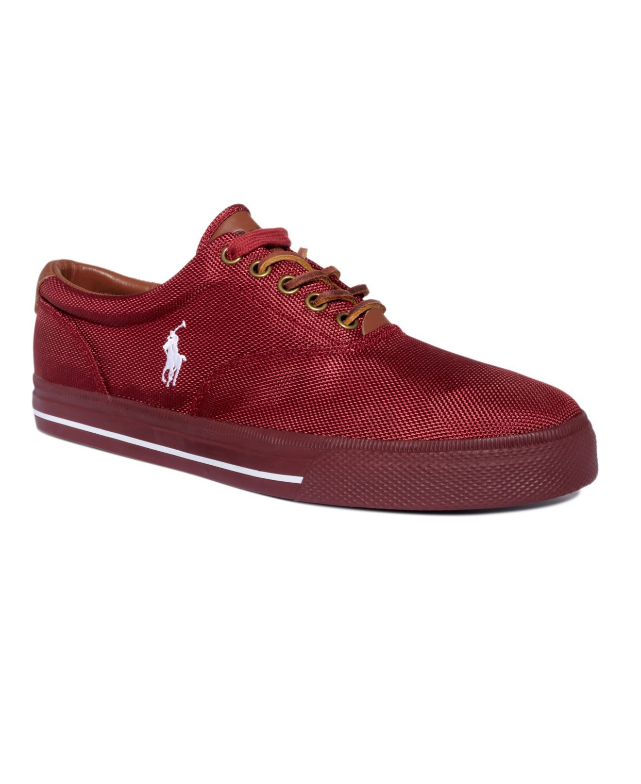 7def808f10ea22 Polo Ralph Lauren Shoes, Vaughn Nylon Sneakers - Mens Polo Ralph Lauren -  Macy s