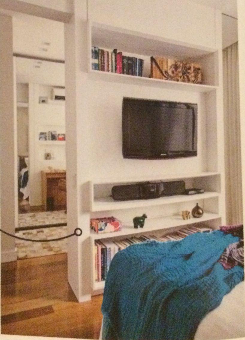 Painel para TV em quartos
