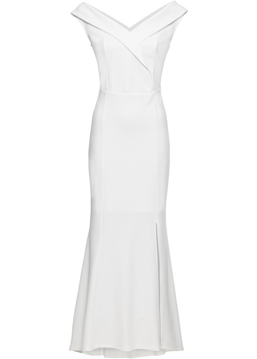 abend-carmen-kleid weiß - bodyflirt boutique online kaufen