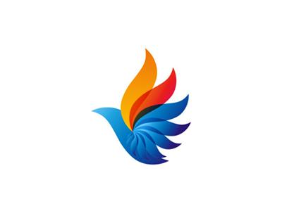 phoenix bird logo design symbol bird logos logos and