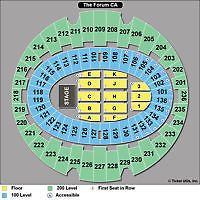 Tickets Pair Row 14 Seats Section 227 Eric Clapton The Forum 3 25 Tickets Eric Clapton Inglewood Concert Tickets