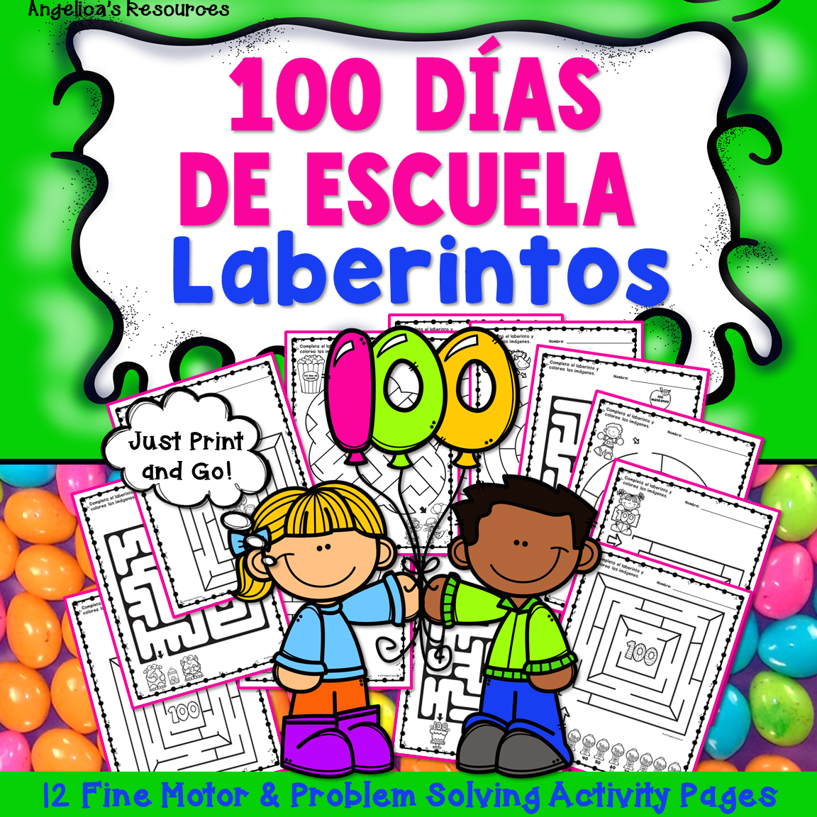 Spanish 100th Day Of School Cien Dias De Escuela