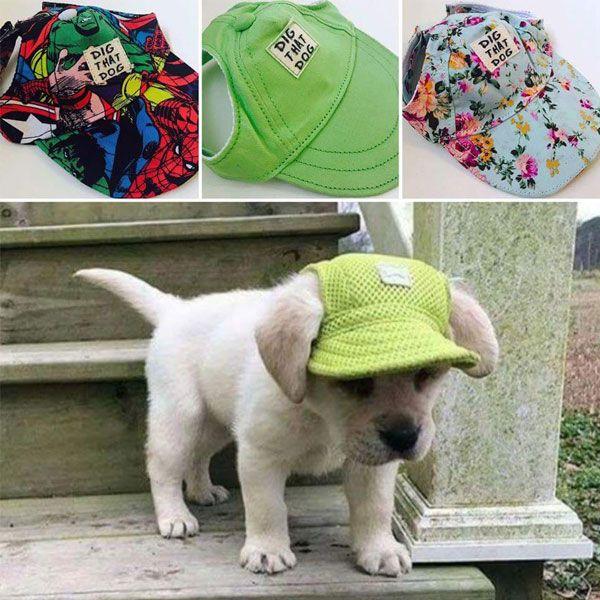 Pet Supplies Dog Clothing Accessories Baseball Duck Tongue Visor Hat Video Cat Accessories Pet Dog Clothes Pet Supplies Dog
