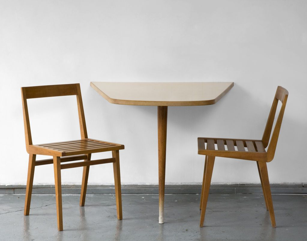 Wall-mounted dining table by Joaquim Tenreiro | From a unique ...