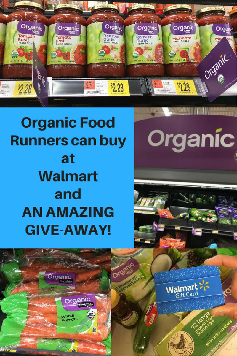 6d199fa195c Find inexpensive organic food at Walmart! Free menu and grocery list plus a  fantastic give away!