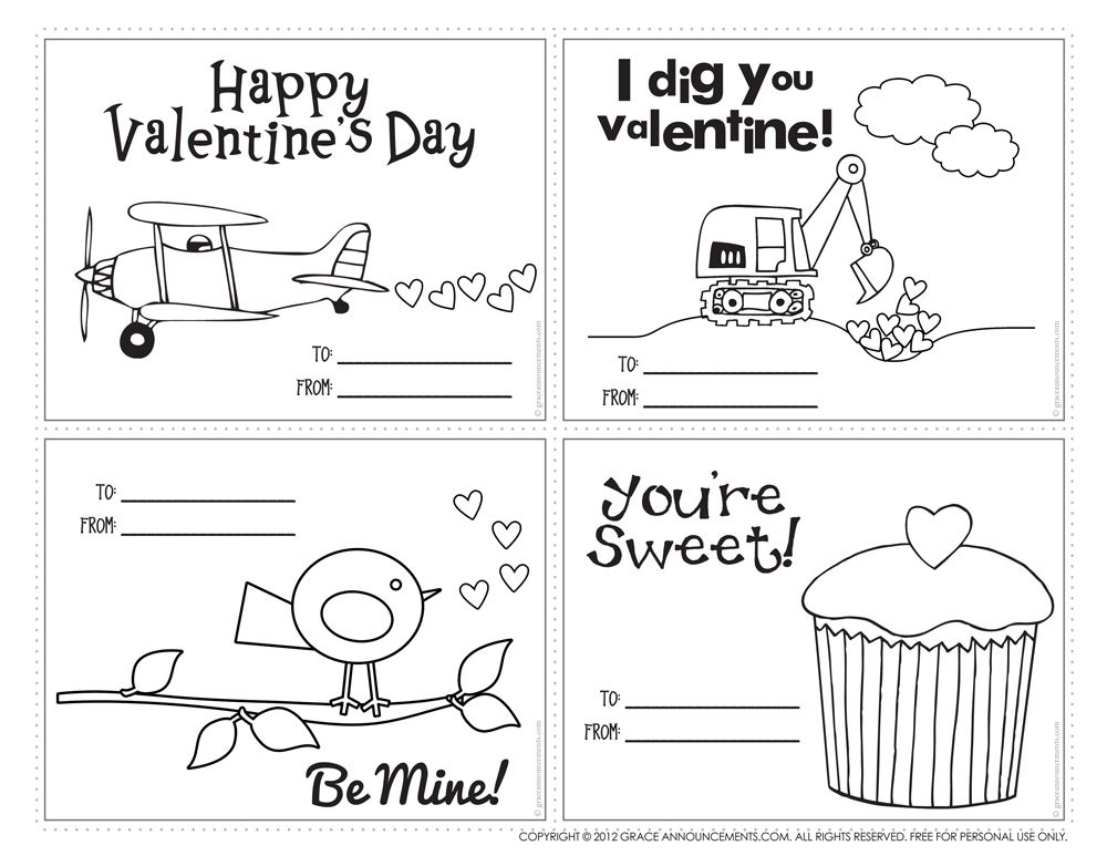 Download This Free Valentine Printable For Kids Description From