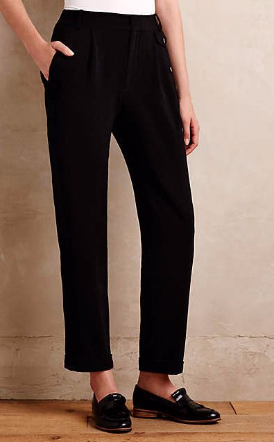 Tapered Avery Trousers #anthrofave