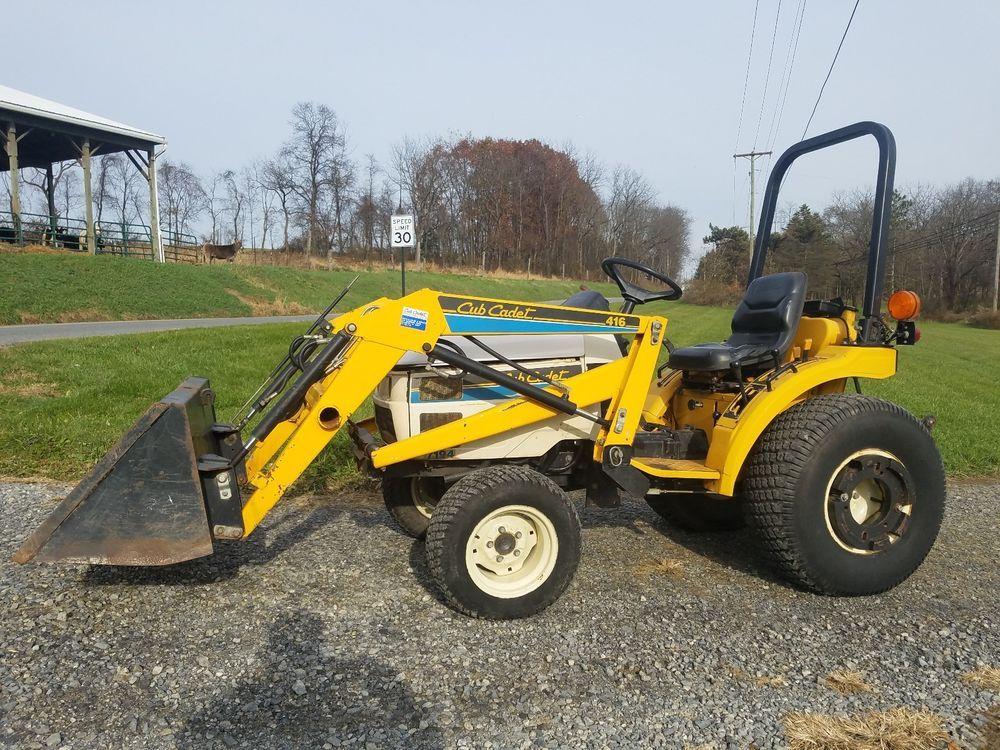 Cub Cadet 7194 Loader 4wd Diesel Loader #farmtractor #tractor #farm